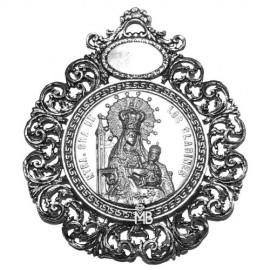 Medalla Virgen de los Clarines PK133PMC