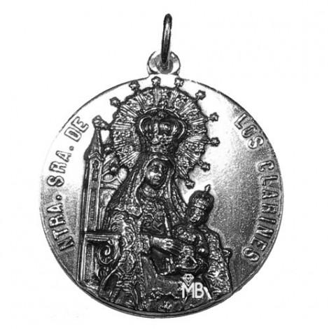 P40PMELI Medalla Virgen de los Clarines