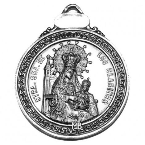PK876/65P Medalla Virgen de los Clarines