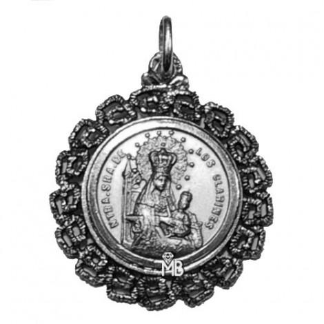 PK374/35P Medalla Virgen de los Clarines
