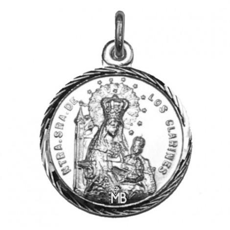 P23F3P Medalla Virgen de los Clarines