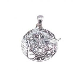 Medalla Virgen del Rocio, Colección Sones Rocieros, Plata 925mls
