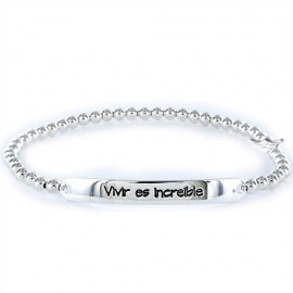 Pulsera Happy Vivir es increible