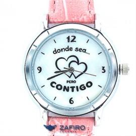 """Reloj My Life """" Donde Sea Pero Contigo """""""