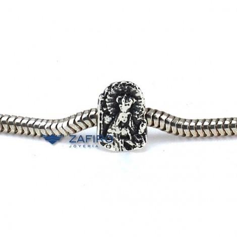 Charm Virgen de Clarines Plata 925mls