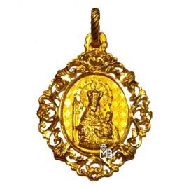 Medalla Virgen de los Clarines