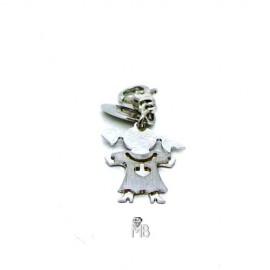 Colgante Lotus Silver LP1104/21