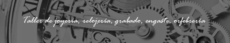 Taller de joyería, relojería, grabado y orfebrería