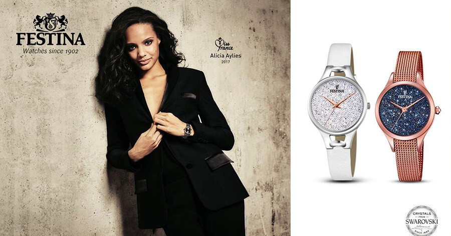 Relojes Festina - Miss France Alicia Aylies